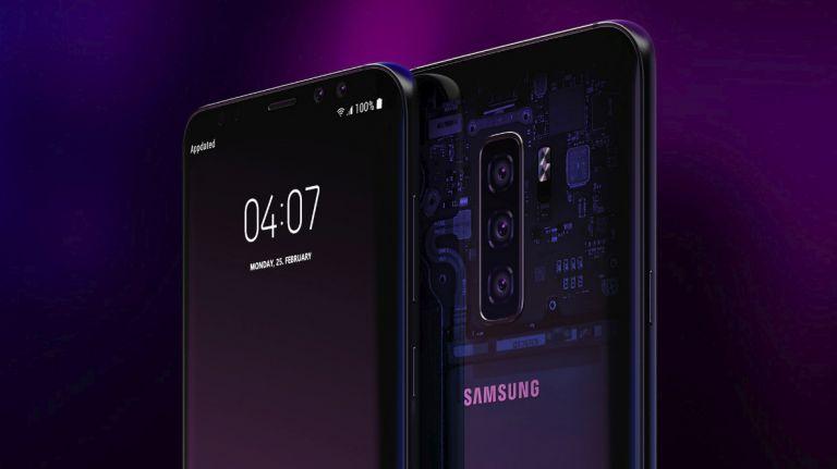 Samsung Galaxy S10 с тройной камерой и сканером под экраном