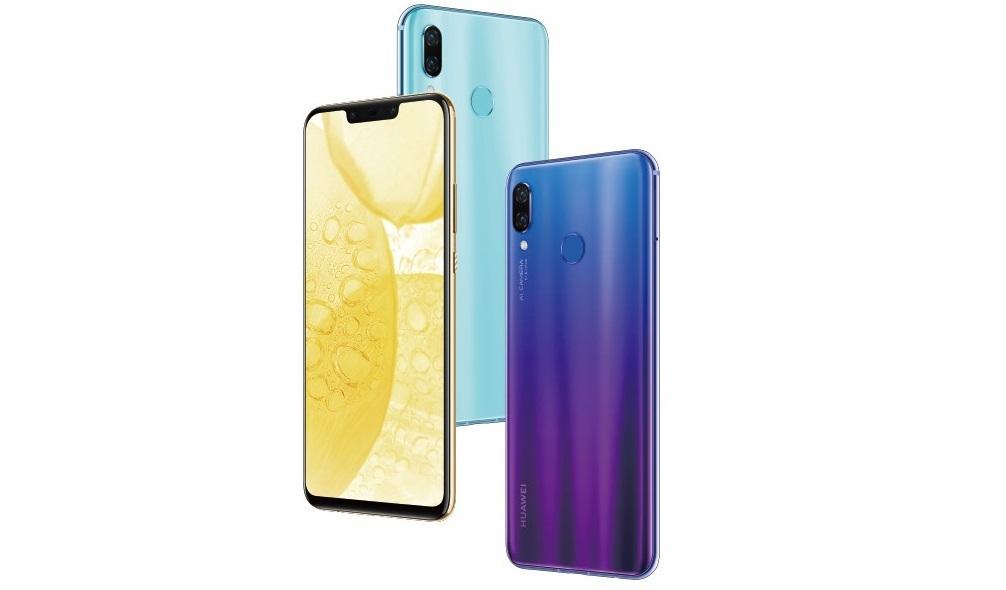 Huawei представила бюджетный смартфон Nova 3 с «пчелкой»