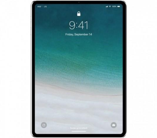 Apple покажет iPad Pro 2018 с тонкими рамками и со сканером Face ID