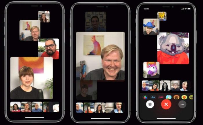 В iOS 12 не появится функция групповых звонков FaceTime