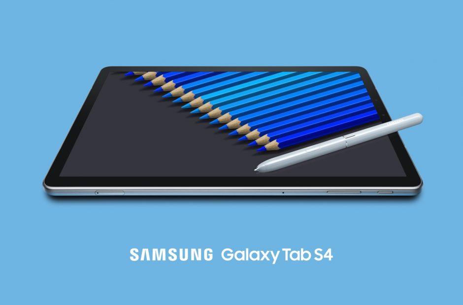Стала известна цена топового планшета Samsung Galaxy Tab S4