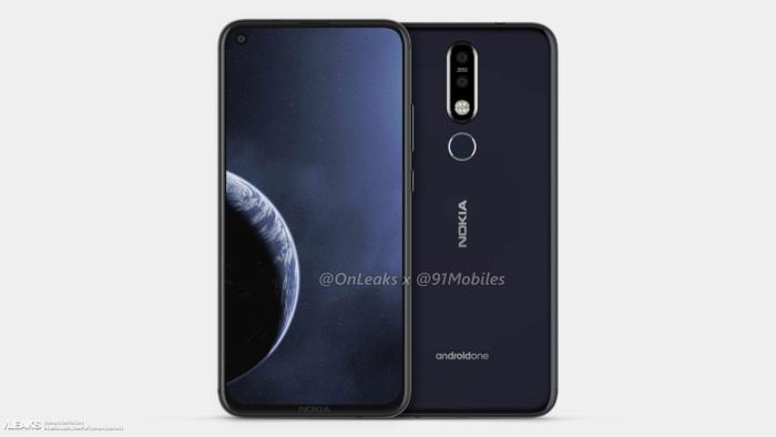 Смартфон Nokia 8.1 Plus на показался промо фотографиях