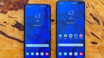 Живые фотографии Samsung Galaxy S10 подтвердили дизайн