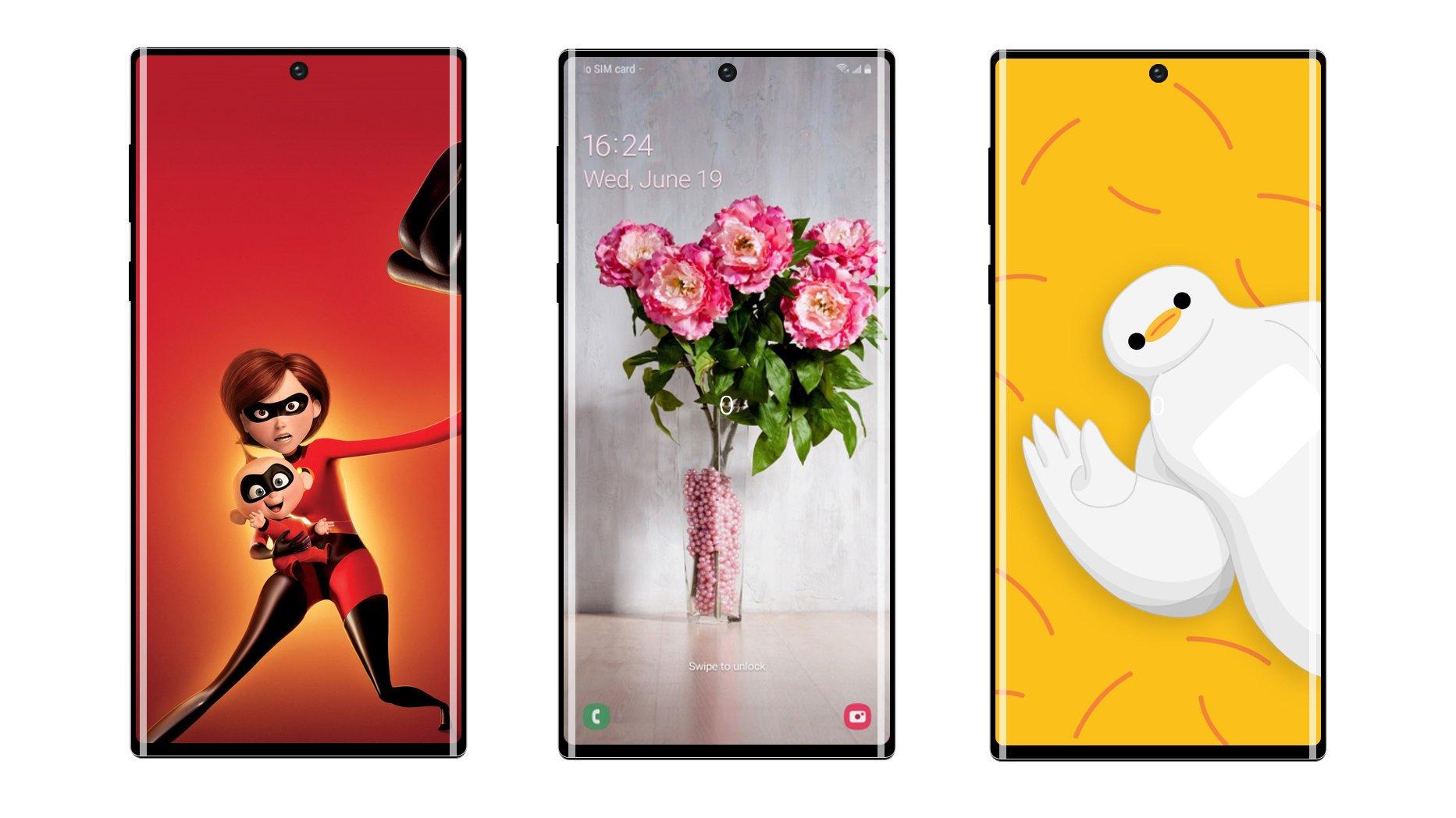Samsung Galaxy Note 10+ красуется на живых фотографиях