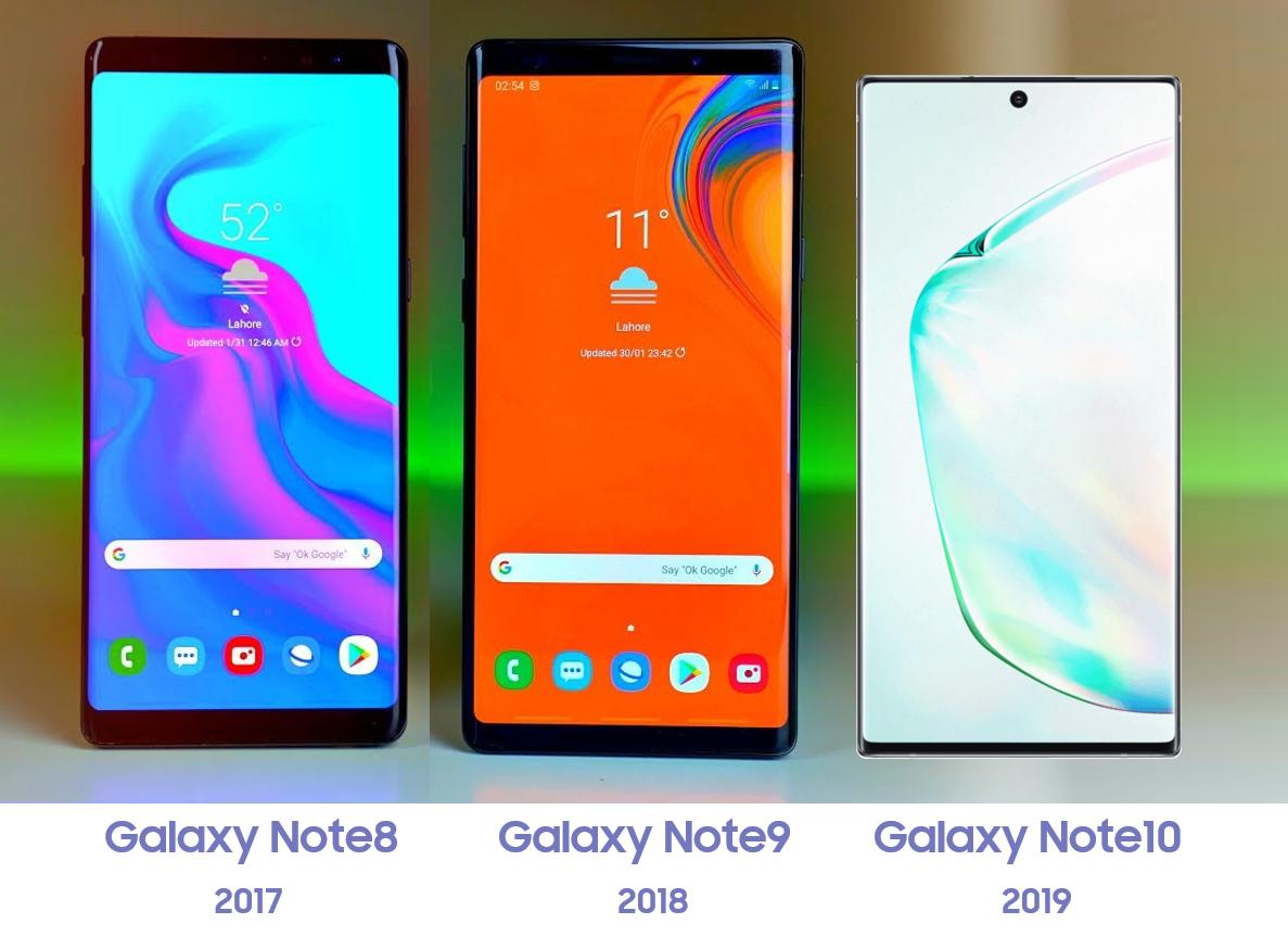 Samsung Galaxy Note 10 на свежих рендерах