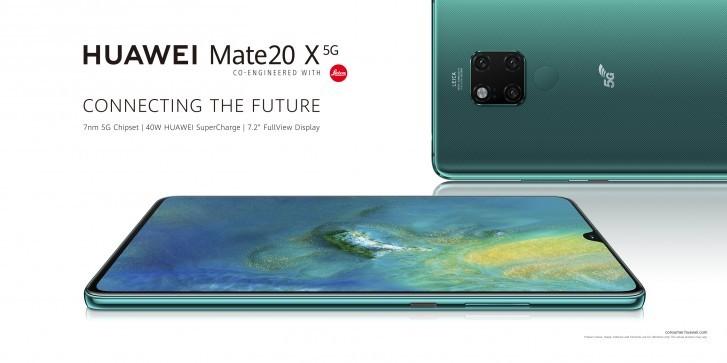 Huawei Mate 20 X 5G продемонстрировал скорость работы через сети пятого поколения