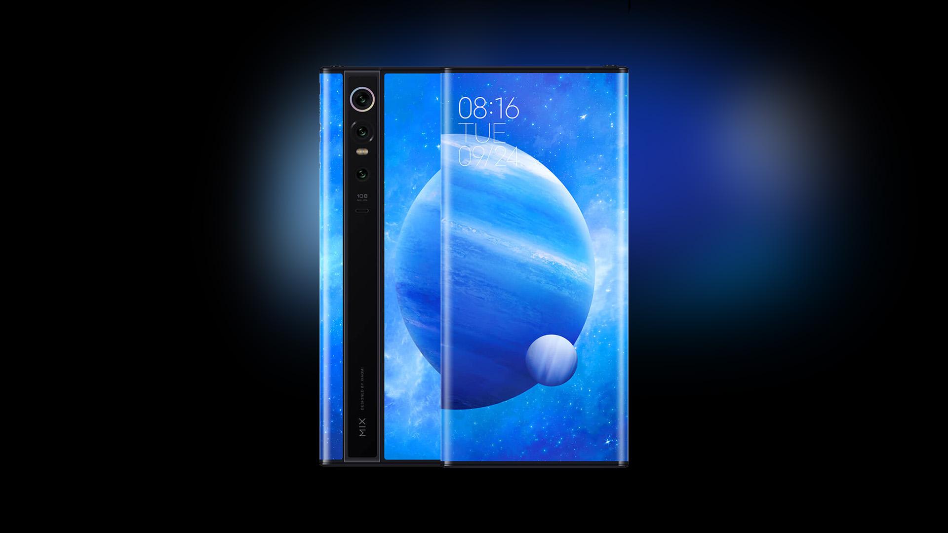 Xiaomi Mi Mix Alpha – смартфон с экраном с четырех сторон