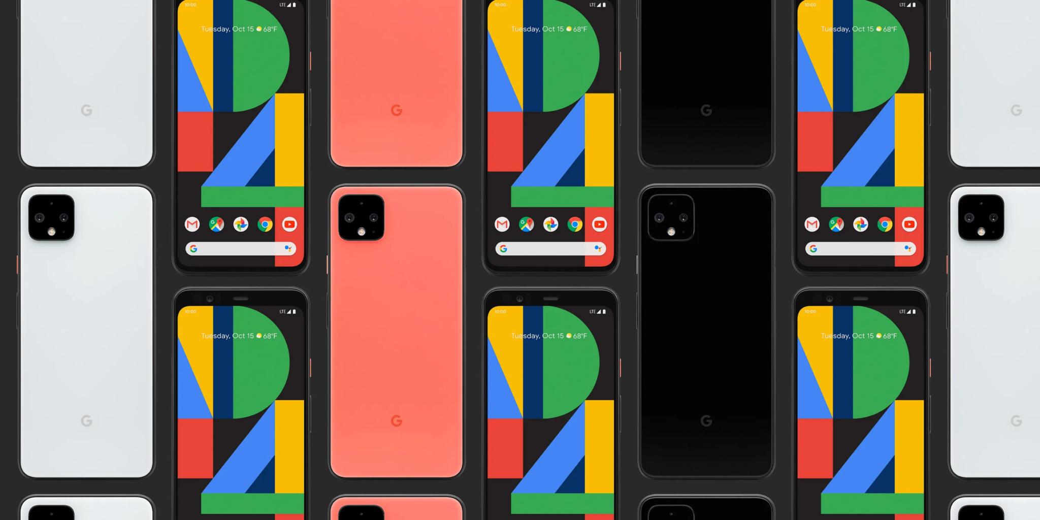 Вышел Google Pixel 4 – с разблокировкой по лицу и датчиком движения