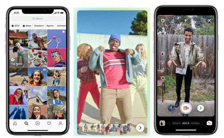 Instagram позволит снимать клипы на подобии TikTok